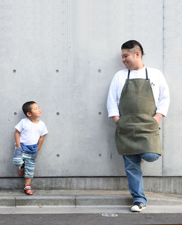 Owner and chef, Noboru Arai